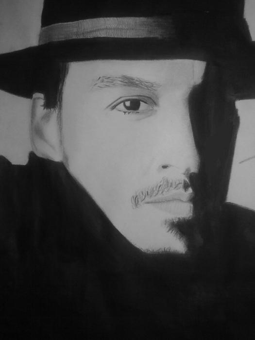 Johnny Depp por Haleema